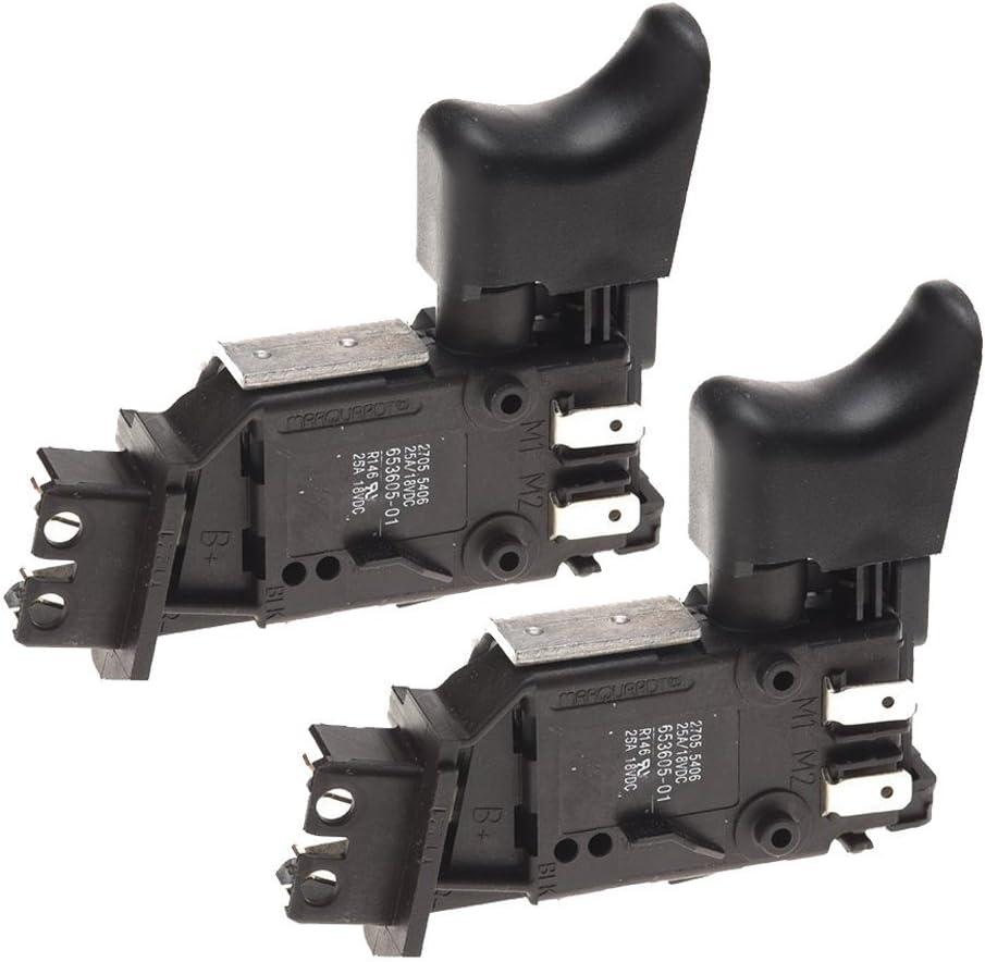 Carbon Brushes For Dewalt DW958 Type 1 18V Cordless Drill