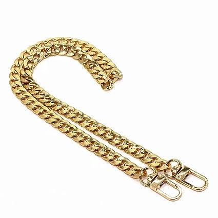 a24d6f850625e M-W 23.6 quot  Iron Flat Chain Strap Handbag Chains Accessories Purse  Straps Shoulder Replacement Straps