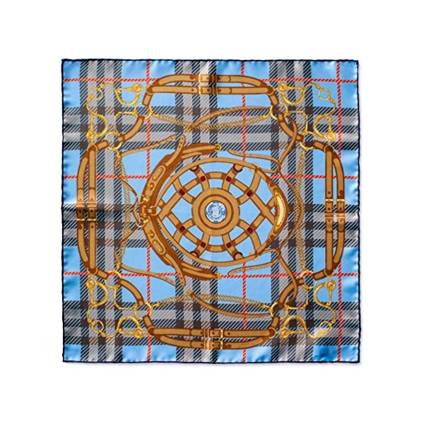 Italian-Silk-Mens-Sienna-Series-Pocket-Square-165-Inches