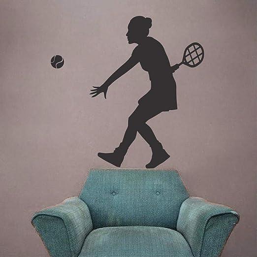 Tianpengyuanshuai Etiqueta de la Pared de Vinilo Art Deco Tennis ...