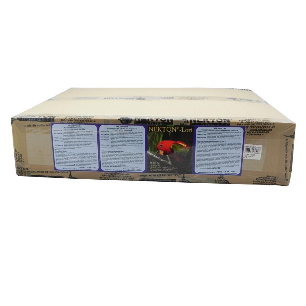 Nekton Lori - Geeignet für Vögel, die sich weitgehend mit flüssiger Kost ernähren Größe: XL 1er Pack (1 x 6000 g) 2536000