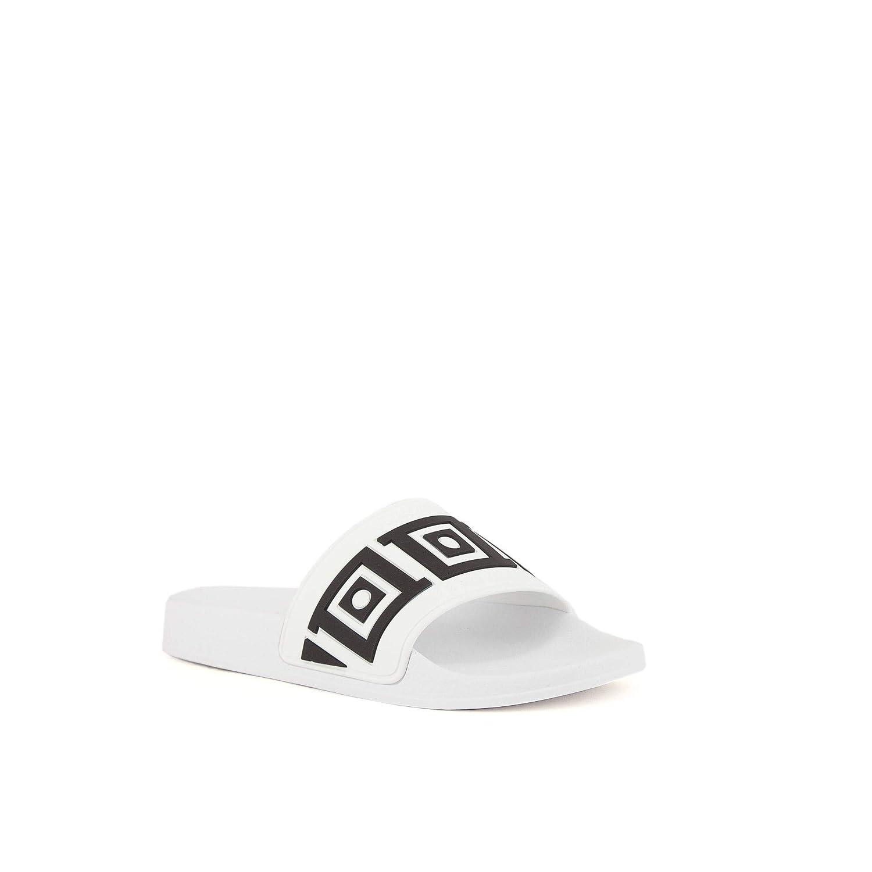 df923b6682128 Amazon.com: Versace Collection Men Slides Bianco - Nero: Shoes