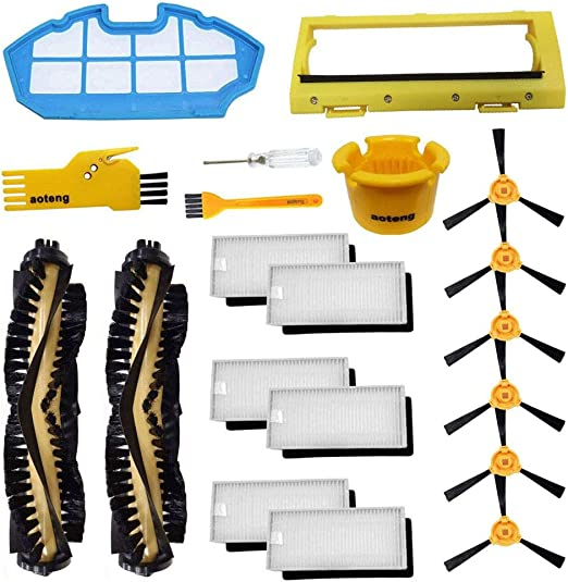 aoteng Replacement for Ecovacs Deebot N79 N79S Robot Vacuum Cleaner Accessory Kit Set 2