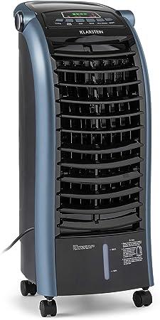Imagen deKLARSTEIN Maxfresh - Enfriador de Aire 3 en 1, Climatizador evaporativo, 55 W, 444 m³/h, 4 velocidades, 3 Modos: Normal, Naturaleza, Noche, Temporizador hasta 15 h, Capacidad: 6 L, Azul
