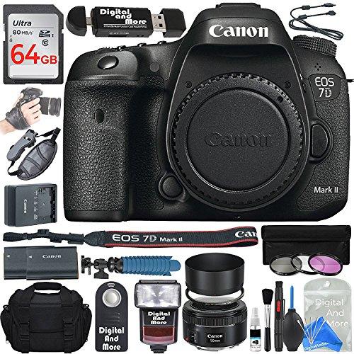 Canon EOS 7D Mark II Digital SLR Camera Body + ULTIMATE PRO Bundle