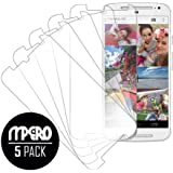 MPERO Collection 5-Pack of Ultra Clear Screen Protectors for Motorola Moto G (2nd Gen)
