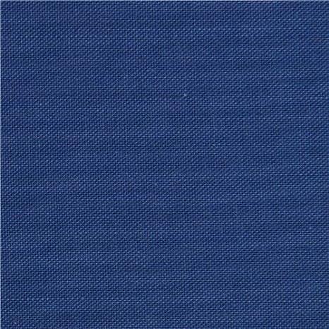 Tela de algodón azul liso (por unidad de 0,5m): Amazon.es: Amazon.es