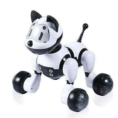 Voice Control Robort Dog,IHOVEN Dog Interactive Puppy Robotic Interactive Pet Dog Walking Dancing Singing Go Puppy Kids Toy Children