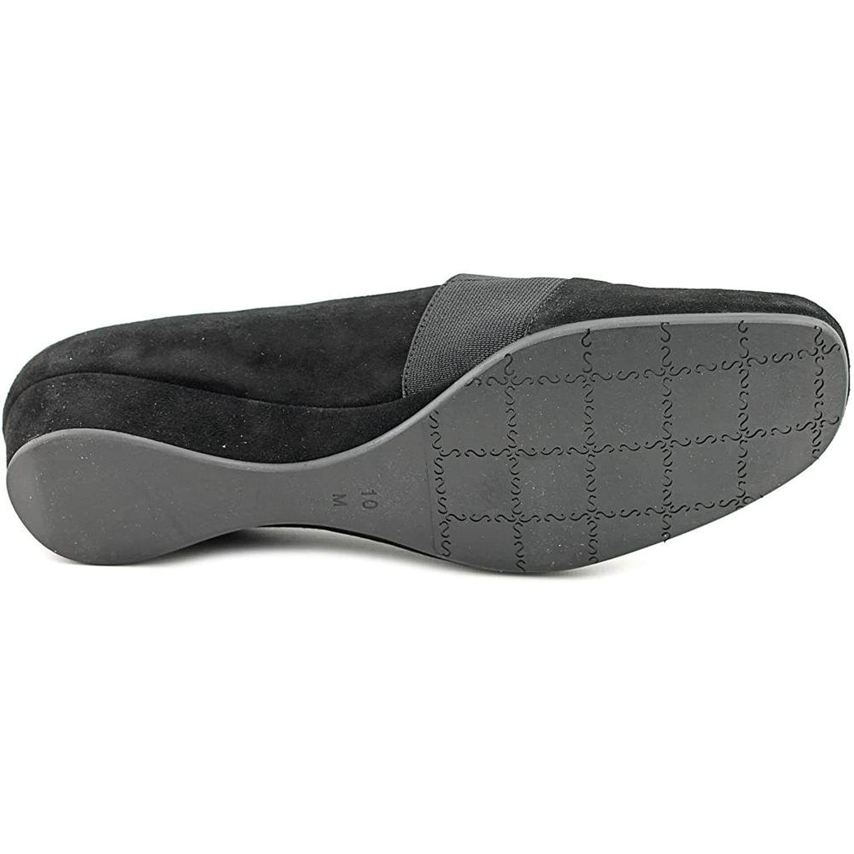 Vaneli Mirah Square Toe Suede Loafer