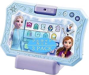 VacFun - Juego de 3 protectores de pantalla antiluz azul compatible con Disney Anna and The Snow Queen 2 Dream Camera Tablet, película protectora (vidrio templado) antiazul y rayo