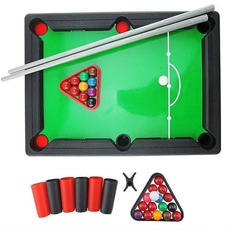 Juguetes educativos para niños Mini Billar Americano Juego de ...