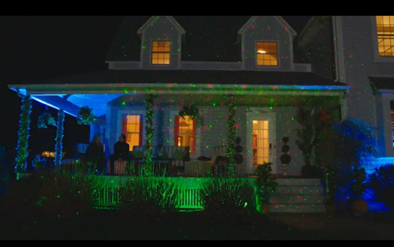 on idea qvc light classy house projected laser christmas for excellent lights