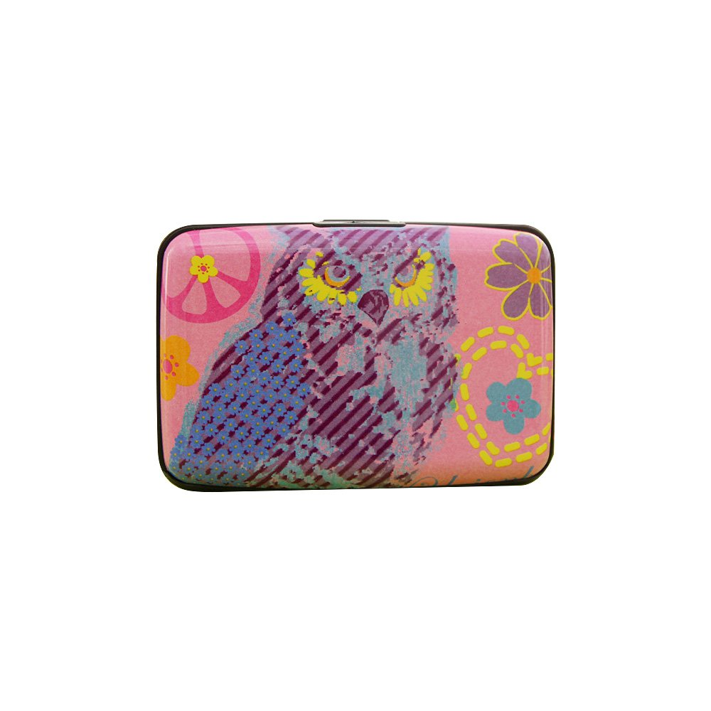 Zhi Jin 1Pc Cute Owl Business Card Holder Wallet Animal Credit ID Name Cards Organizer Case Women Men Travel Gift Style3