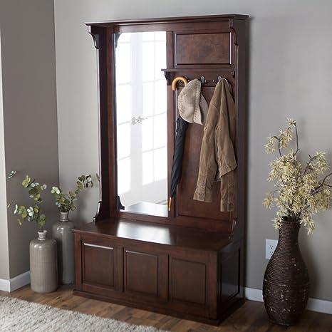 Amazon.com: Belham Living Lynden Árbol de salón con espejo ...