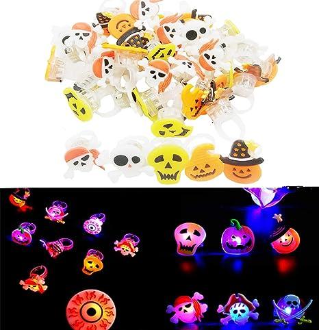 50PCS Luminosas para Fiestas Liuer Cumpleaños Infantiles Decoracion Niña Super brillante LED dedo luces favor de partido para Festival Navidad ...