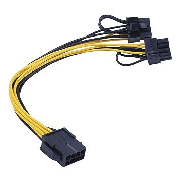 TOOGOO CPU 8pin a la tarjeta de video de imagenes Cable de ...