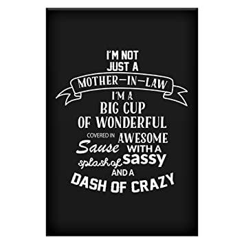 Home Of Merch Funny X In Art Print Poster For Mother In Law Best