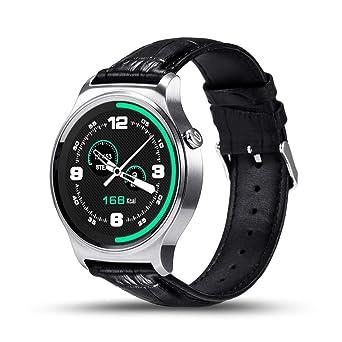 SZPZC Bluetooth Smart Watch IPS Pantalla Redonda Vida Impermeable ...