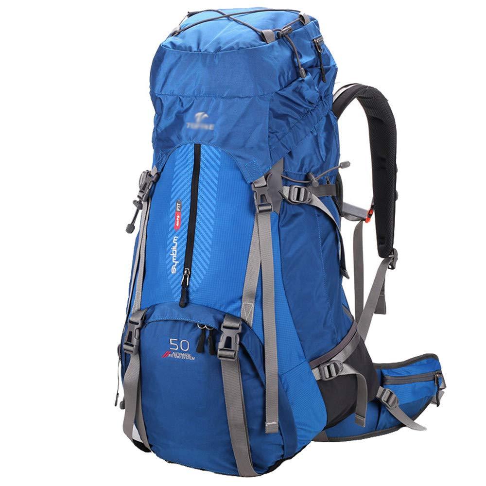 LUUT Nylon Wasserdicht Außentasche Schlicht Unisex Wanderrucksack Outdoor Sport Reiserucksack mit Grosse Kapazität