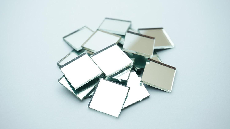 "1"" square mirror mosaic tile. 100 pcs"