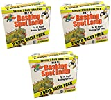 Zoo Med Reptile Basking Spot Lamp 50 Watt - 6 Bulbs Total (3 Packs with 2 per Pack)