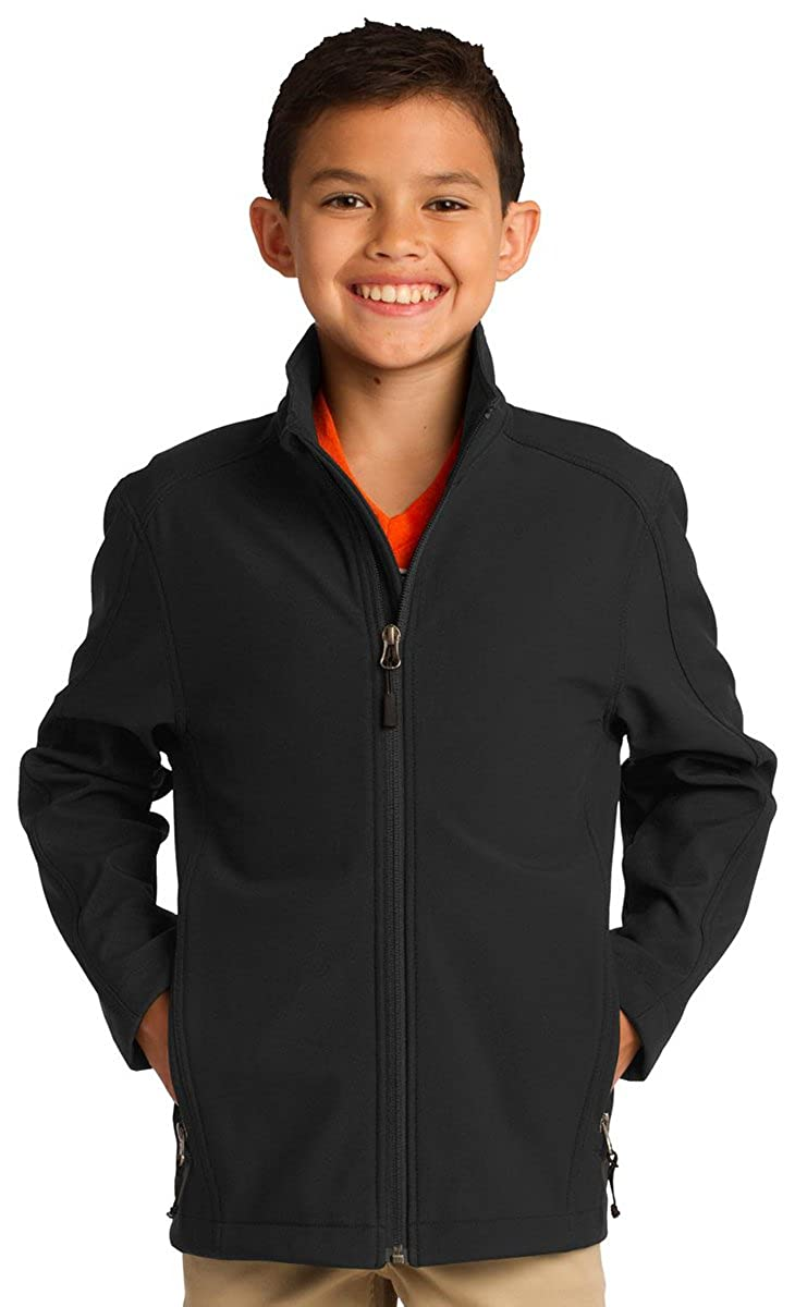 Port Authority Youth Traditional Waterproof Soft Shell Jacket/_Dress Blues Ny/_L