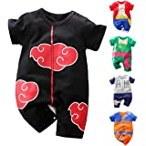 RELABTABY Newborn Baby Boys Girls Anime Romper Cotton Long Sleeve Infant Cosplay Costume Jumpsuit Outfit