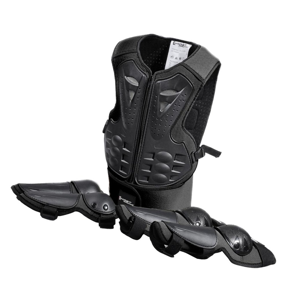 Baoblaze Children Sports Protection Body Elbow Knee Gear Equipment for Snowboarding Cycling Skating