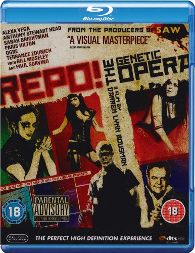 Repo! A Genetic Opera [Blu-ray]: Amazon.co.uk: Alexa Vega, Paul ...