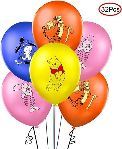 Amazon.com: Globos de fiesta de Lsang con diseño de Winnie ...