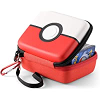 tombert Carrying case for Pokemon Trading Cards, Hard-Shell Storage Box fits Yugioh, Magic and Pokemon …
