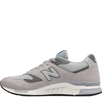 454ca195faac0 New Balance Scarpa Uomo ML840AG Sneakers Overcast Grey 118: Amazon.co.uk:  Shoes & Bags