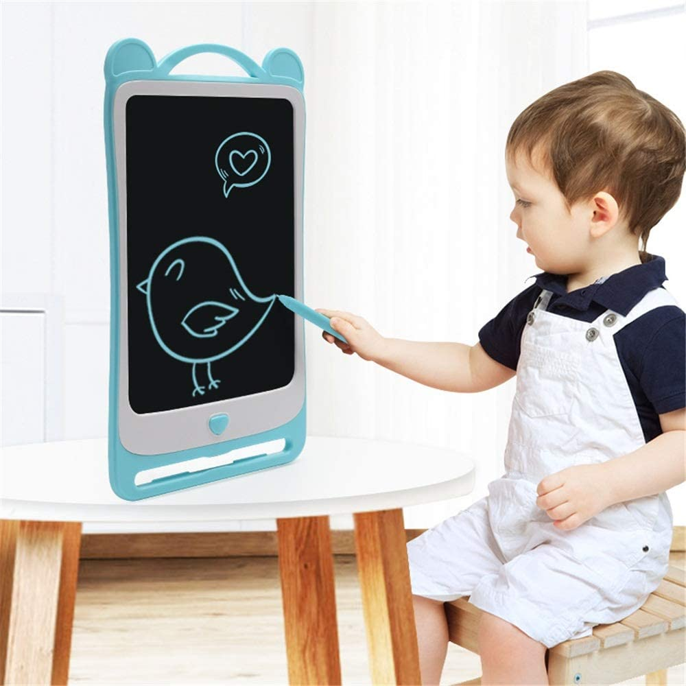 Color : Blue , Size : 8.5 inches Drawing Board eWriter 3 Pcs 8.5 Inches Electronic Portable Painting Board Intelligent Dust-free Light Painting Toy for Kids and Adults at Home,School and Office