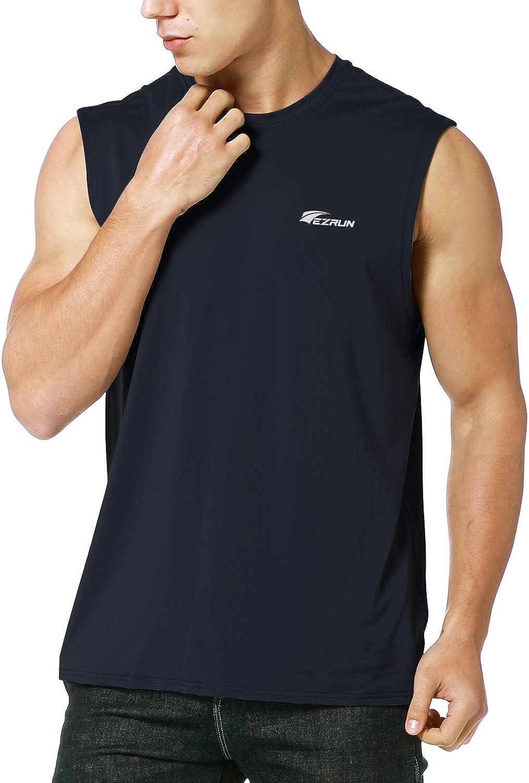 Utm/ärk Mens Workout Tank Top Gym Sport Quick Dry Lightweight Training Fitness Sleeveless Shirt