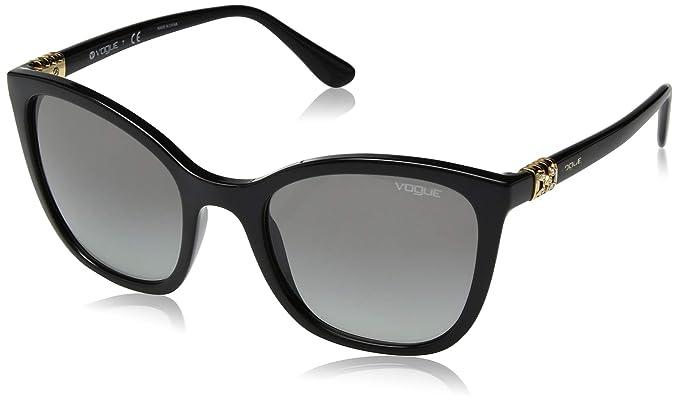 Vogue 0VO5243SB Gafas de Sol, Black, 53 para Mujer: Amazon ...
