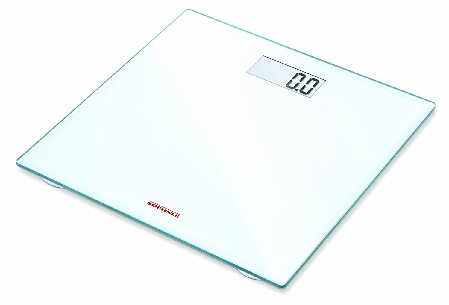 Soehnle Pino Precision Digital Bathroom Scale, 63747, White: Amazon.es: Salud y cuidado personal