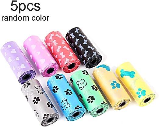 Bags on Board Recarga Colorido Brillante residuos bolsa de caca Caca Perro rollos bolsas 4x15