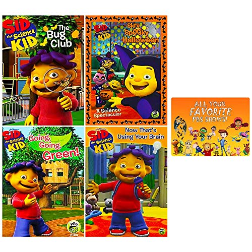 Sid the Science Kid: PBS TV Series DVD Collection (15 Episodes + More!) + Bonus Art Card ()