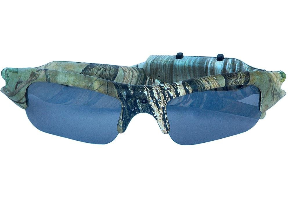 LLZJ Glasses Spy Camera High Definition 1080P Sports Eyewear Mini Hidden Video Recorder Camcorder Sunglasses Biking Travel Camouflage