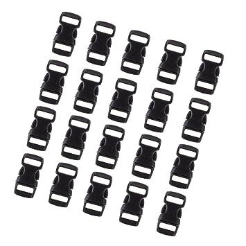 magideal 20pcs/36pcs cierre Cierres de clip para ranuras de correa hebillas para Baender24-Produkt - Hebillas de plástico Mochila piezas de repuesto ...