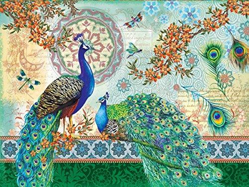Royal Peacocks 500 pc Jigsaw Puzzle