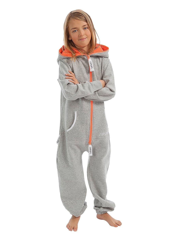 Zipups Mono-Pijama Neon Gris/Naranja 10-11 años (140/146 cm): Amazon.es: Ropa y accesorios