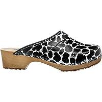 ESTRO Zuecos De Madera para Mujer Calzado Sanitario De Trabajo CDL06