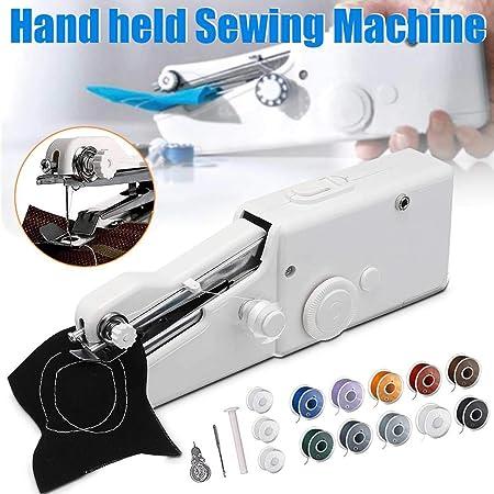 keyu Mini máquina de Coser Prendas de Vestir móviles de Costura a ...
