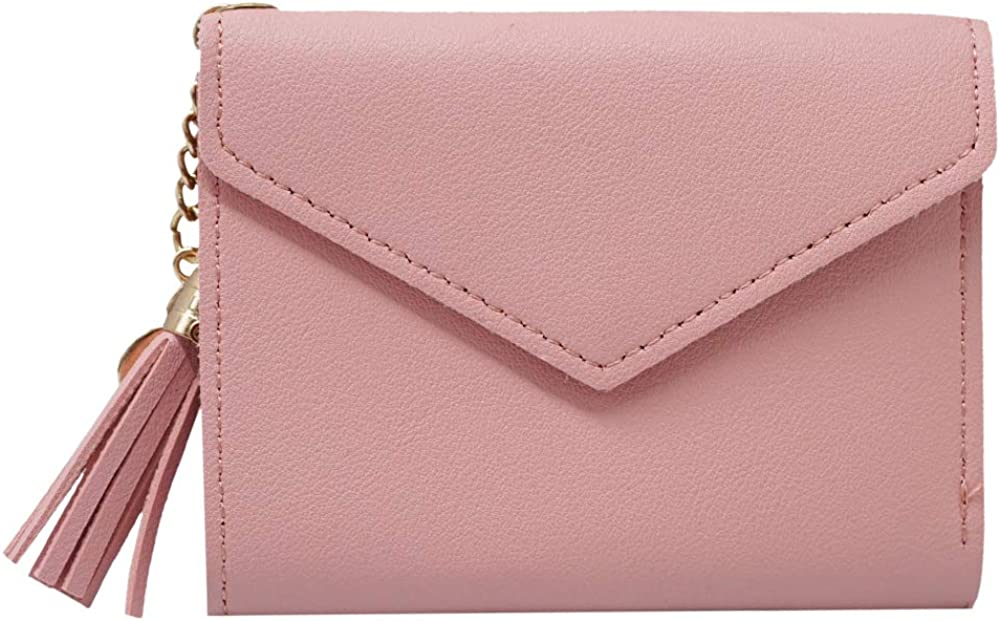 Ultra Slim Pu Leather Credit Card Holder Clutch Wallets for Women