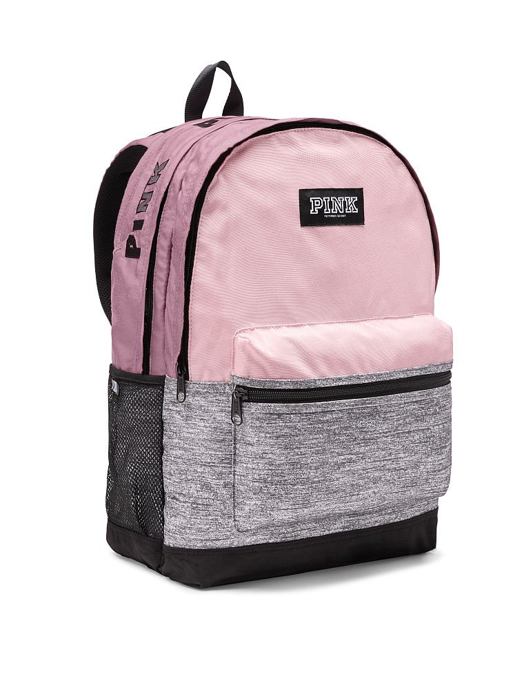 Amazon.com | Victorias Secret PINK New Campus Backpack (Chalk Rose) | Casual Daypacks