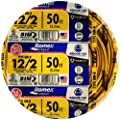 Southwire 28828221 12/2WG NMB Wire 25-Foot