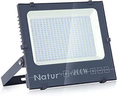 200W Foco LED Exterior, bapro Proyector Led Exterior 20000LM ...