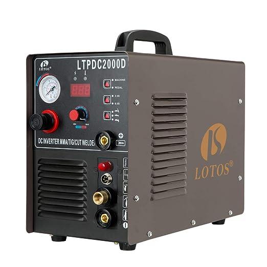 Lotos LTPDC2000D Tig Welder