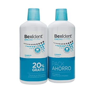 Amazon.com : ISDIN Bexident Gingival Mouthwash 2 x 500ml - Daily Use Mouthwash - Prevent Gingivitis - Oral Care - Spain : Beauty